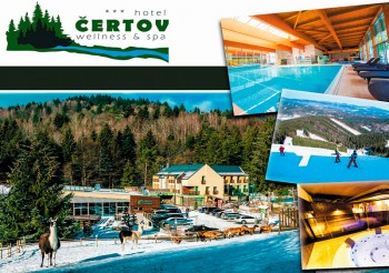 Wellness & Spa Hotel Certov in Lazy pod Makytou
