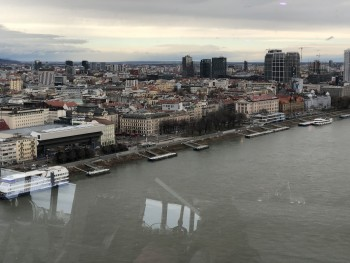 Incredible Bratislava view (from the UFOTOWER) - photo 1