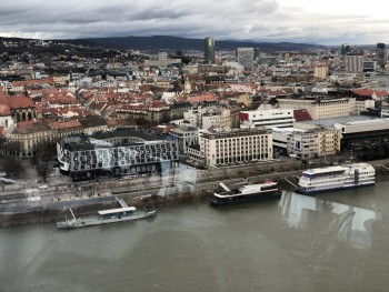Incredible Bratislava view (from the UFOTOWER) - photo 3